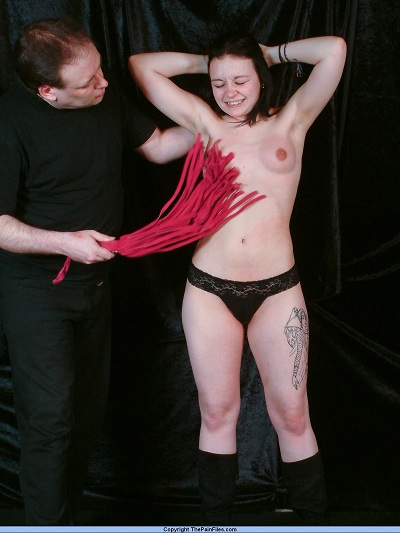 hot nipple whipping fetish for pixie