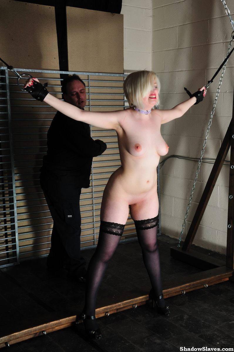 Bondage and spanking vid