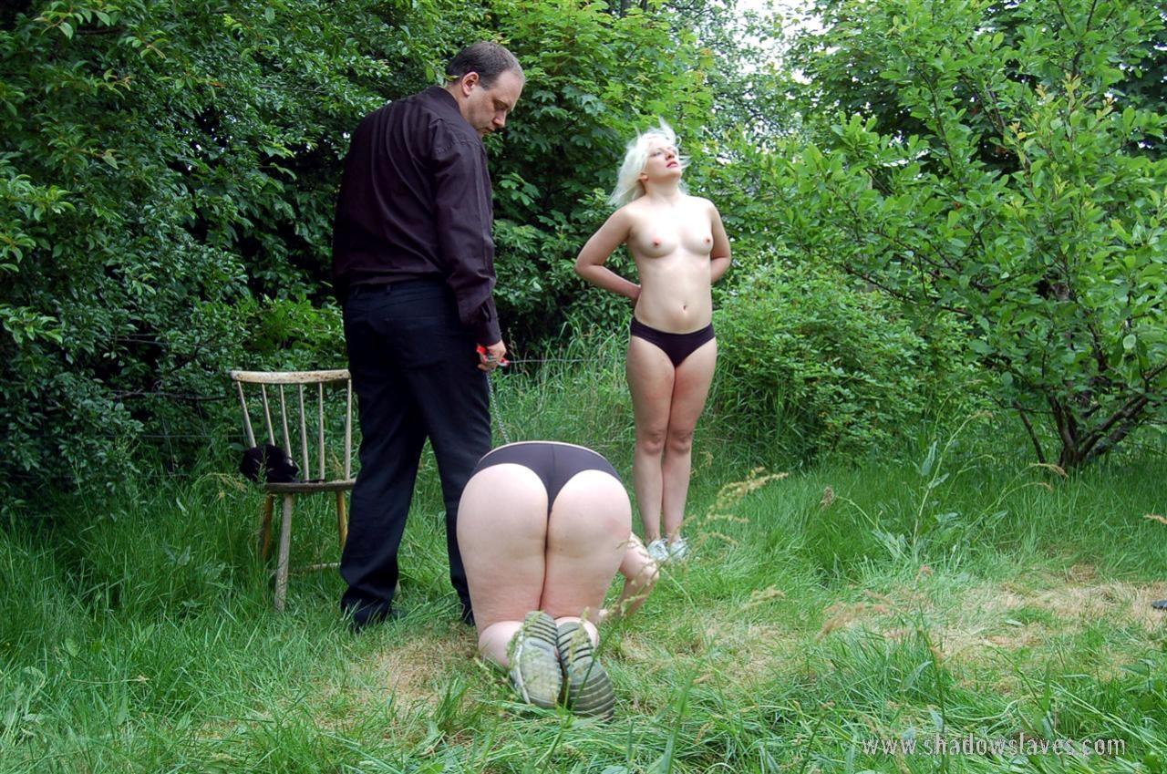 Outdoor spanking