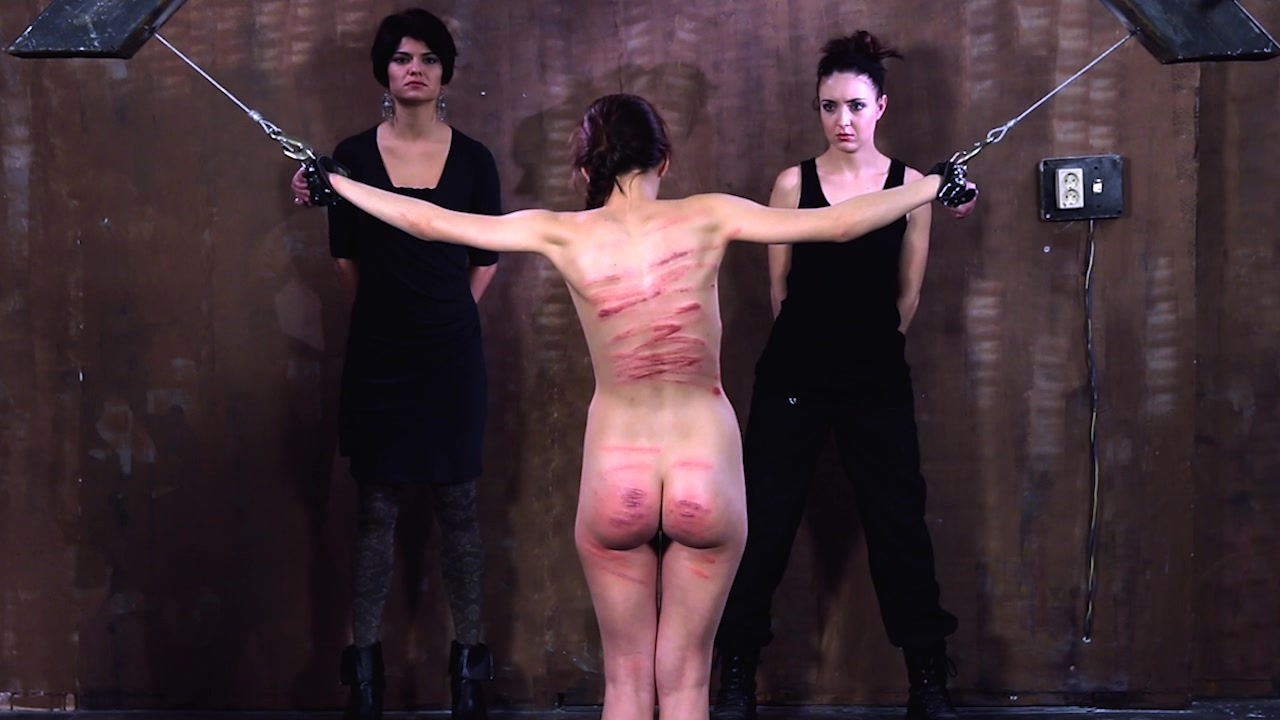 Flogging women prisoners