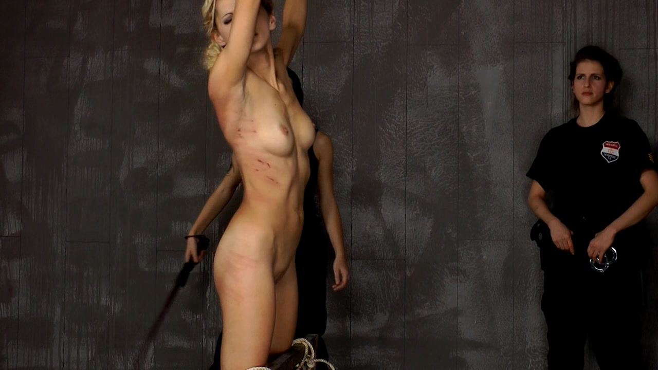 Whipped women prison nude