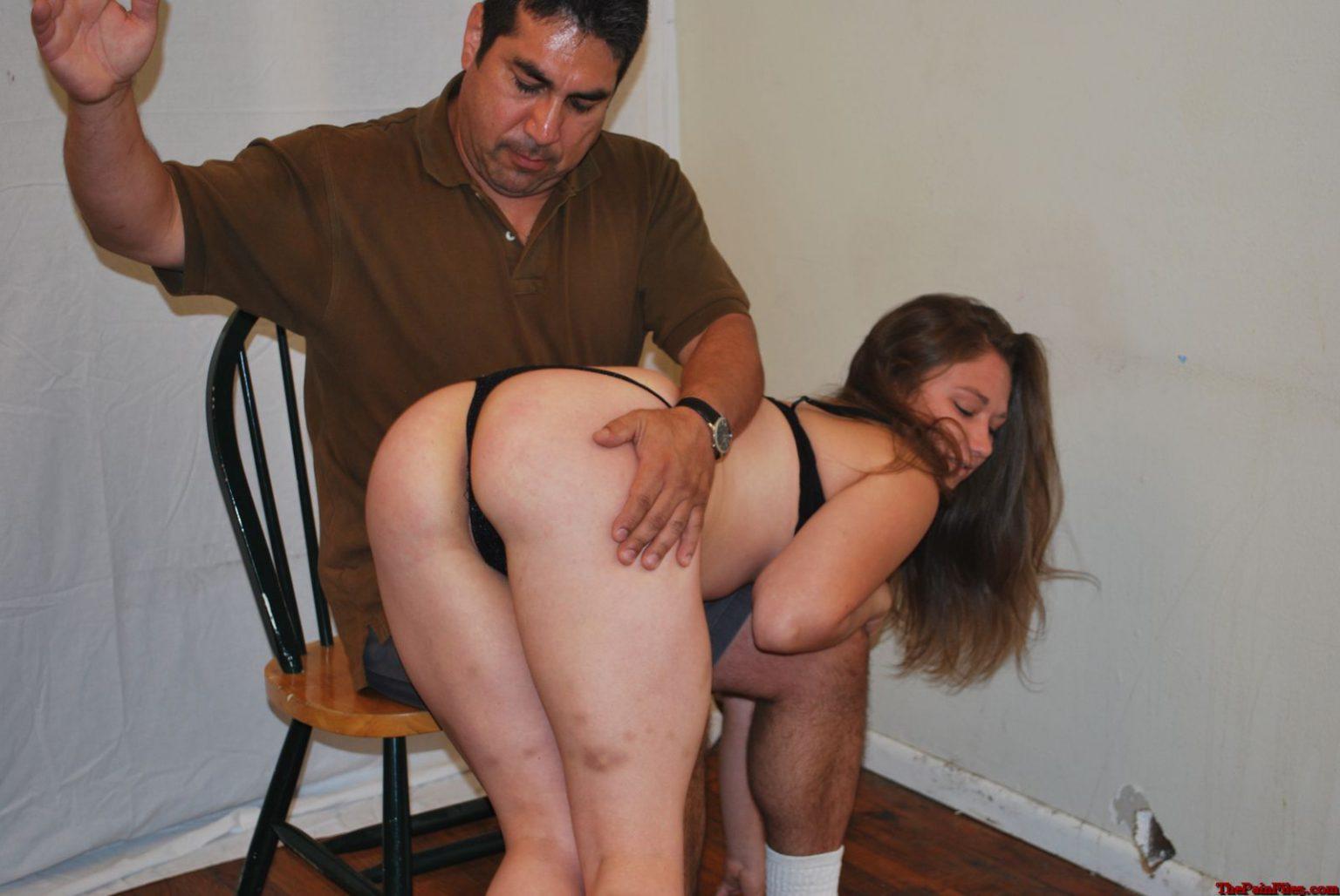 Порно видео муж наказывает жену